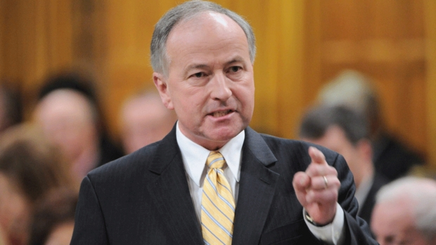 Rob Nicholson was one of the ministers involved in preparing the legislation that changes pardons.