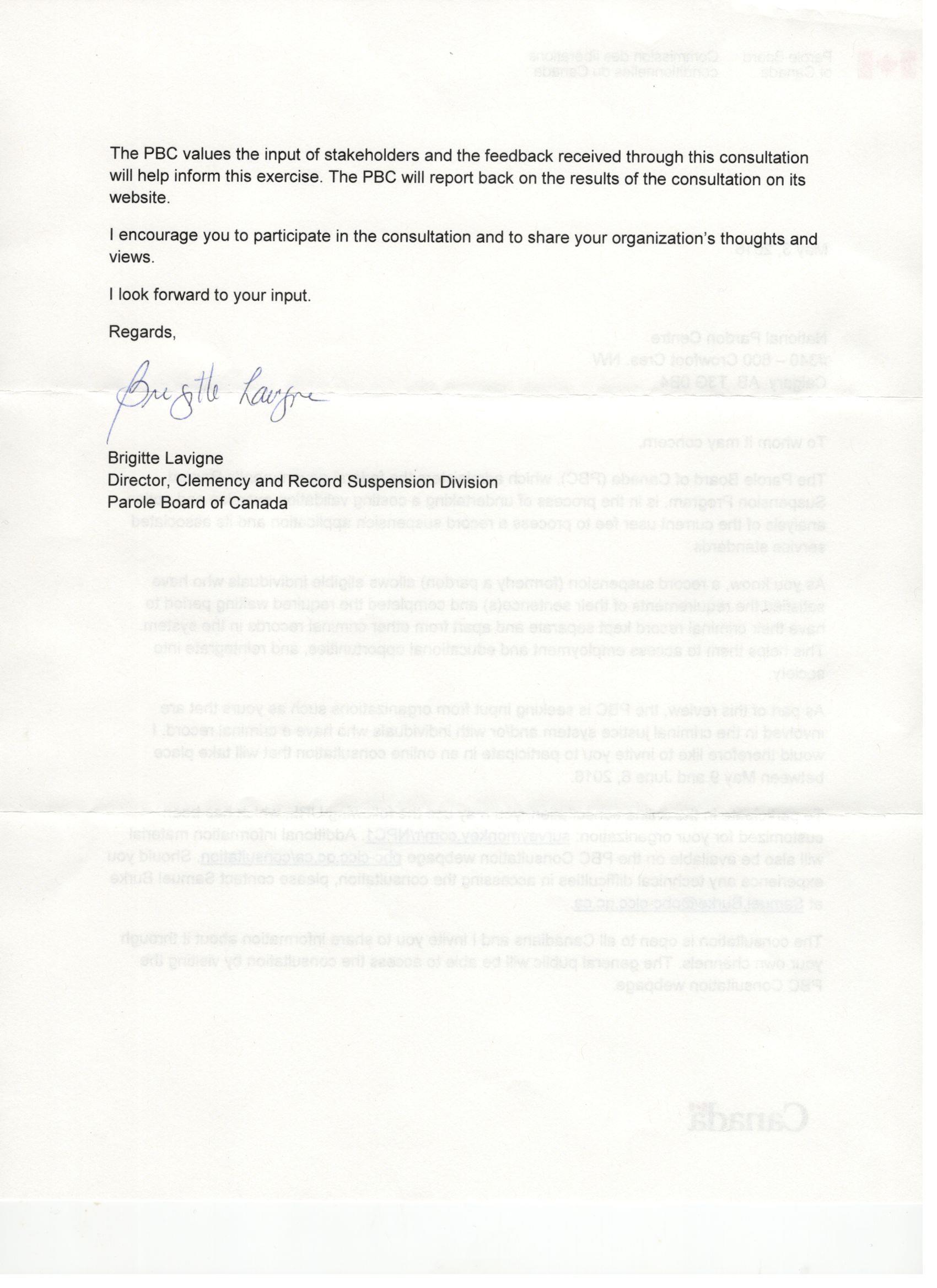 Parole Board of Canada Letter.pg.2