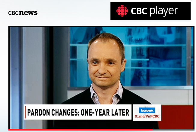 Michael Ashby, discussing Bill C-10 and the pardon program on CBC's Power and Politics. Watch Video