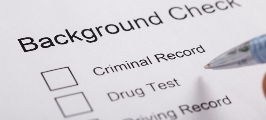 Certified FBI background check